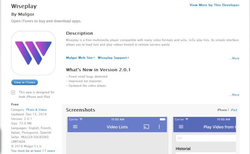 تطبيق Wiseplay لتشغيل ملفات IPTV وبث المحتوى باستخدام DNLA