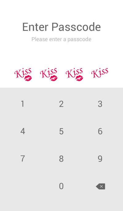 kiss-