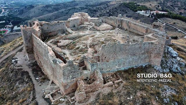 Το κάστρο Λάρισα στο Άργος από ψηλά (βίντεο)