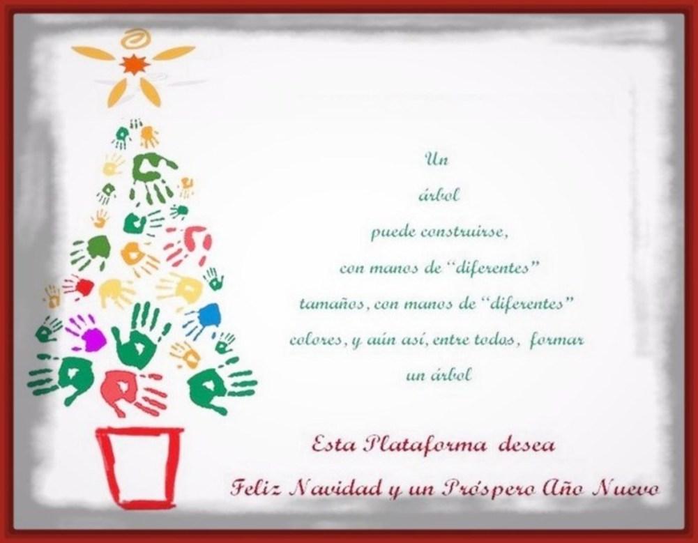 Felicitacion de navidad por wasap