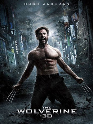 Poster Of The Wolverine (2013) Full Movie Hindi Dubbed Free Download Watch Online At worldfree4u.com