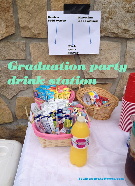 drink station, graduation party