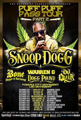 Warren G Tour Dates