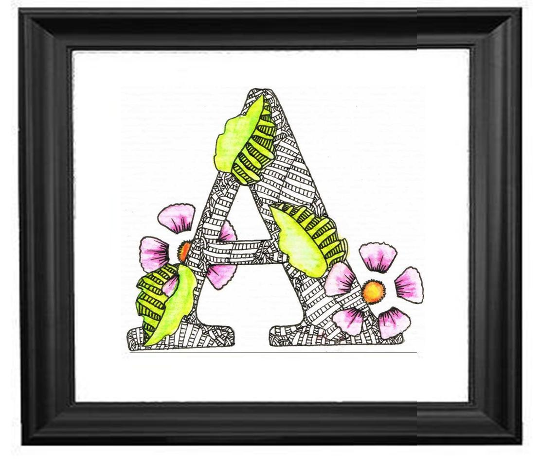 Creative Doodling With Judy West A Z Of Alphabet Designs