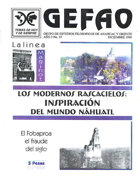 Los modernos rascacielos inspiracion del mundo Nahuatl GEFAO