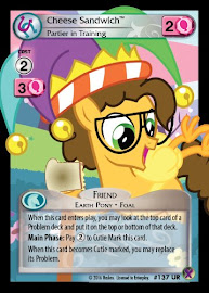 My Little Pony Cheese Sandwich, Partier in Training Marks in Time CCG Card