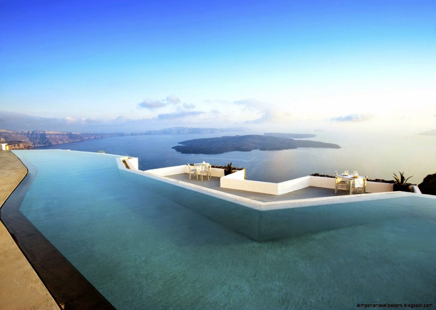Infinity Pools Outdoor Home Ideas | Important Wallpapers