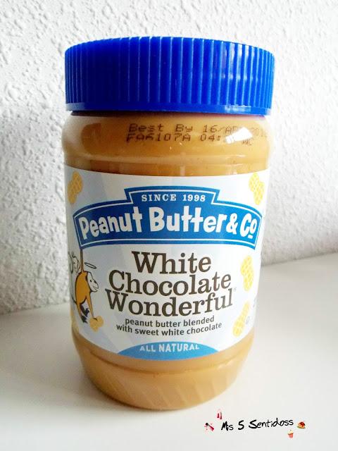 Peanut Butter & Co chocolate blanco