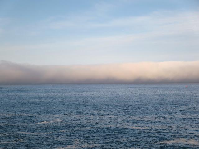 Pacific Ocean Fog