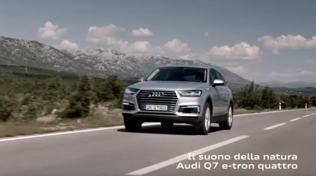 Canzone Audi Q7 e-tron quattro Pubblicità