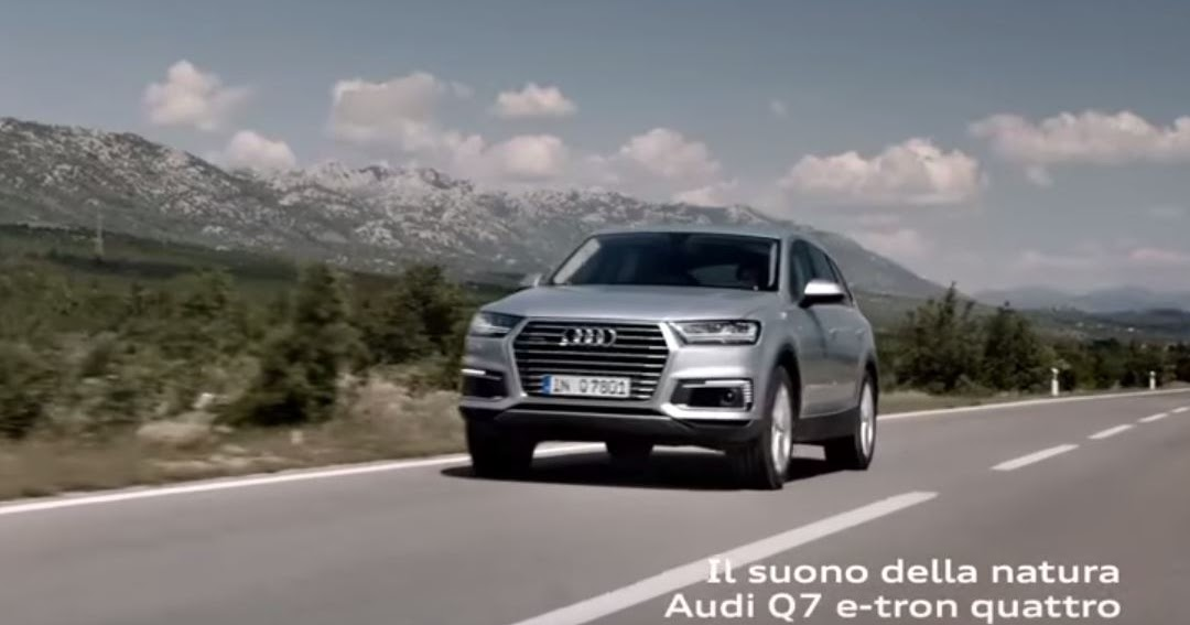 canzone audi q7 e tron quattro pubblicit musica spot settembre 2016 dmusic it. Black Bedroom Furniture Sets. Home Design Ideas