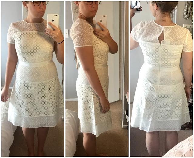 Geo Lace Dress