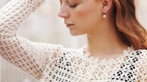 Saco corto tejido con ganchillo - con moldes y patrones