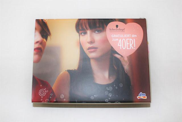 dm Jubiläumsbox von Schwarzkopf Verpackung