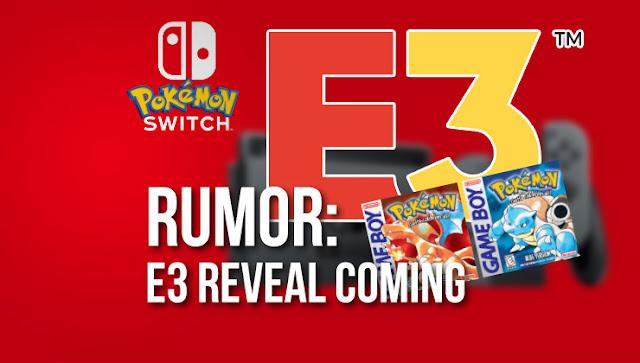 Pokémon de Switch se luciría en este E3, se vuelve a hablar de Rojo y Azul