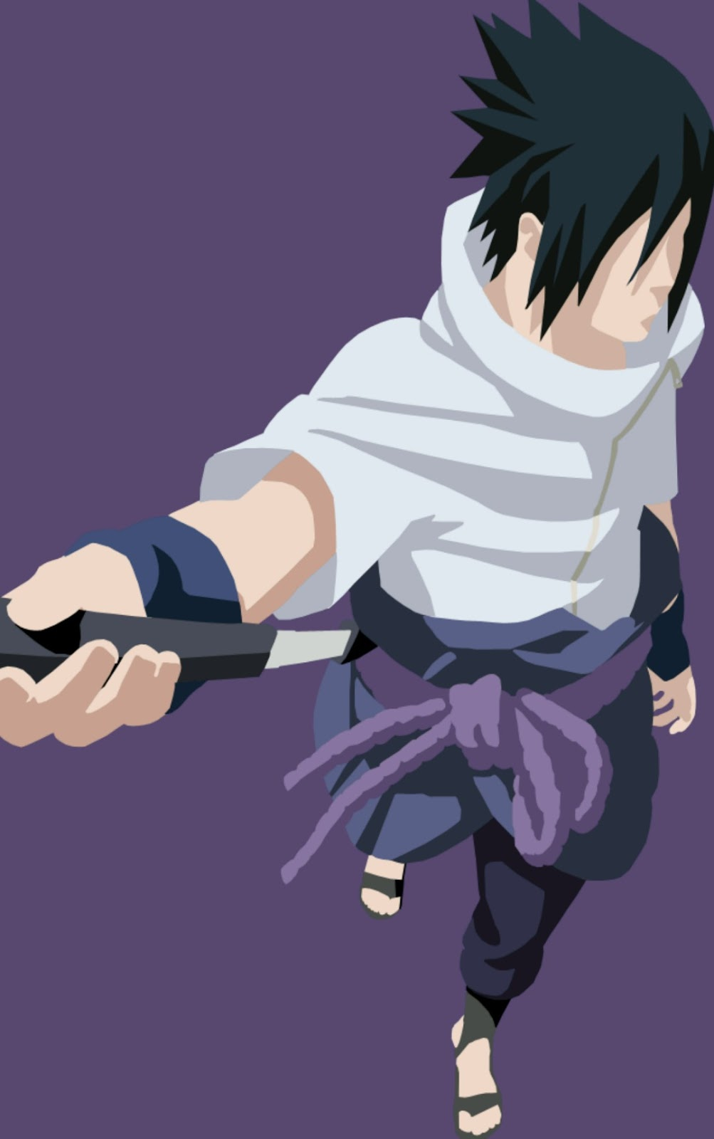 8. Download wallpaper uchiha sasuke vektor untuk android dan whatsApp chat
