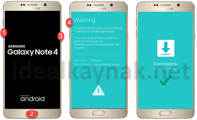 Samsung Galaxy Note 5 Android 7 Nougat Güncelleme
