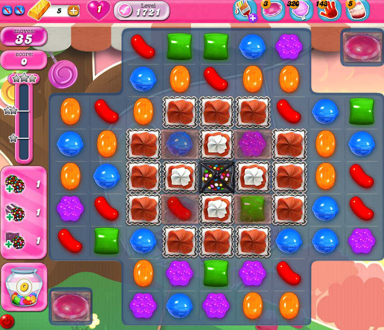 Candy Crush Saga 1721