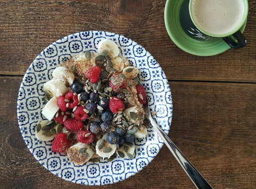 speedy bircher porridge recipe