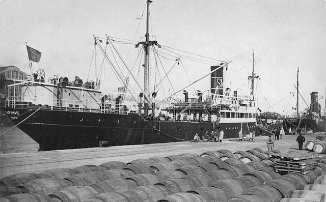3 April 1941 worldwartwo.filminspector.com Swedish freighter Daphne