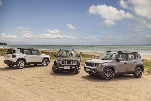 Jeep Renagede 2019