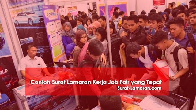 Contoh Surat Lamaran Kerja Job Fair yang Tepat