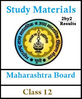 Maharashtra HSC Study materials for all Subjects - MAH Board