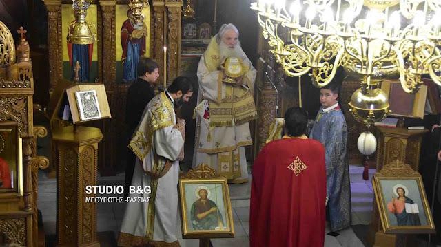 Αρχιερατική Θεία Λειτουργία στο Νέο Ροεινό