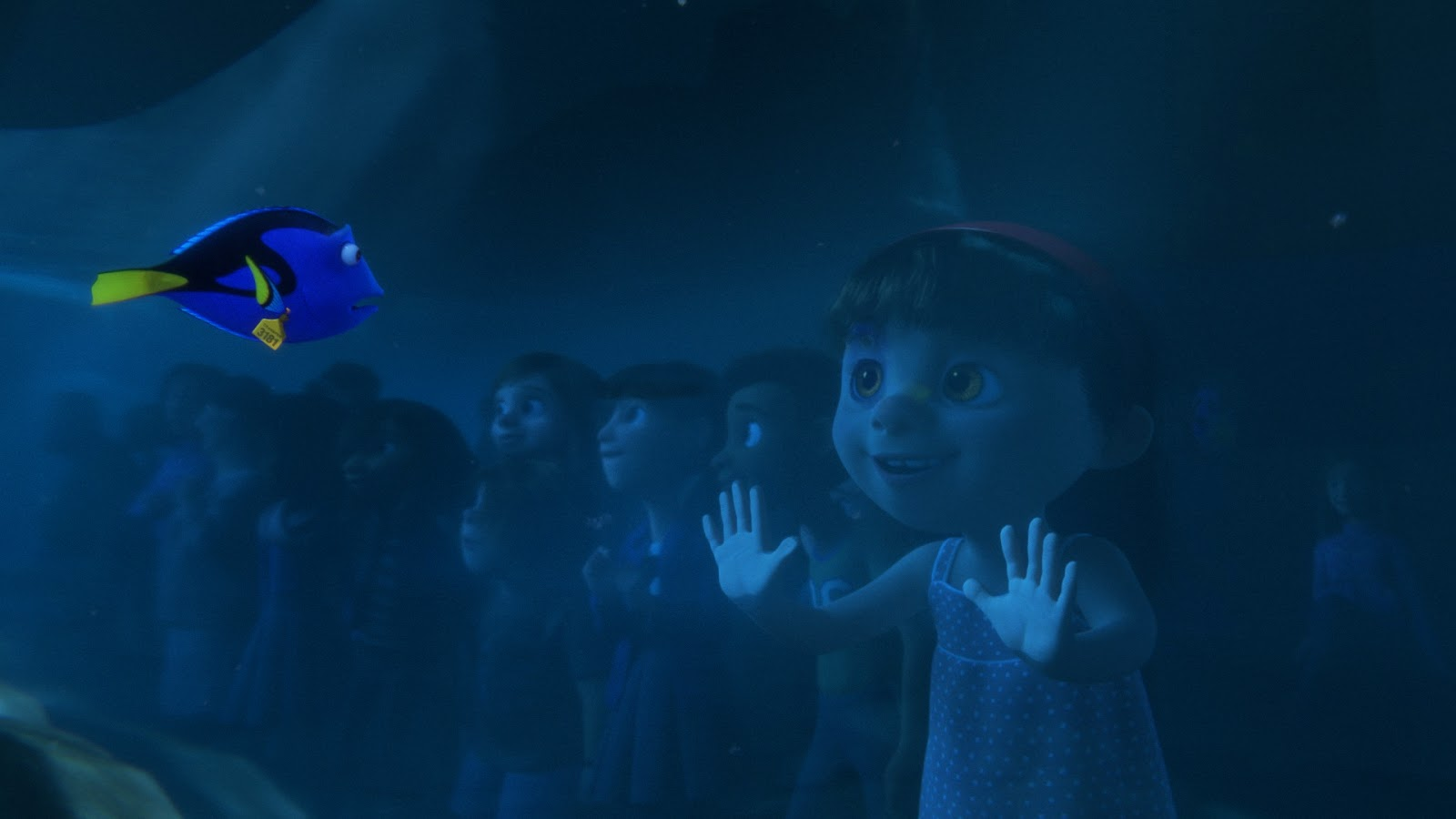 Finding Dory Inside Out scene