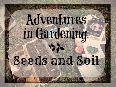 gardening soil and seeds