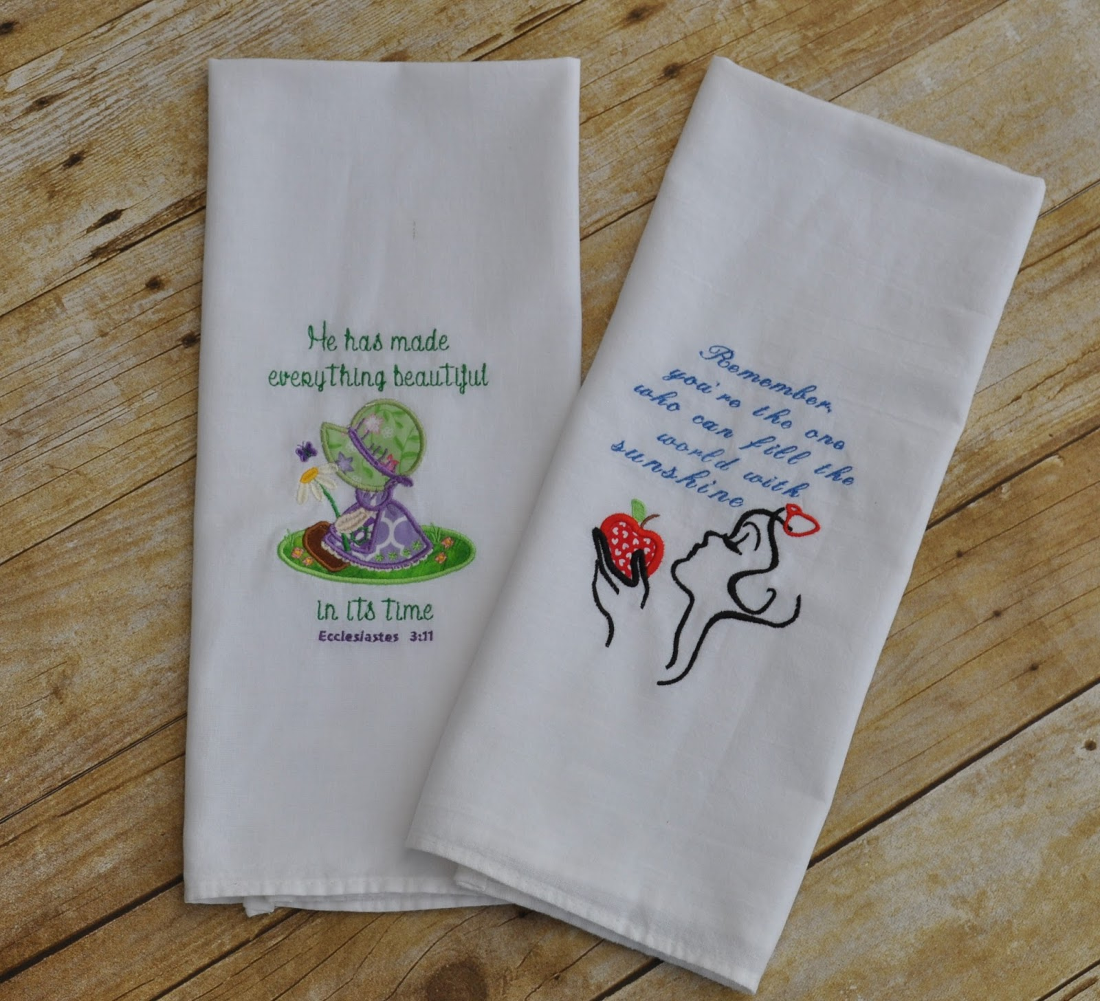 How To Embroider Flour Sack Towels Solution For Dummies