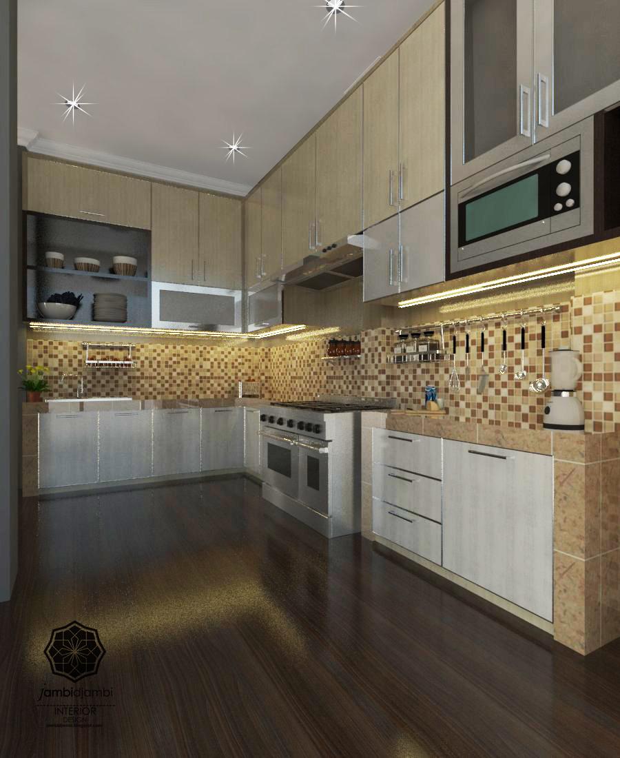 Desain kitchen mr arie puri mayang kota jambi