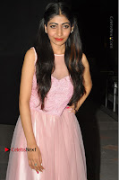 Actress Nidhisha Reddy Pos in Beautiful Pink Dress at Virus Telugu Movie Audio Launch .COM 0037.JPG