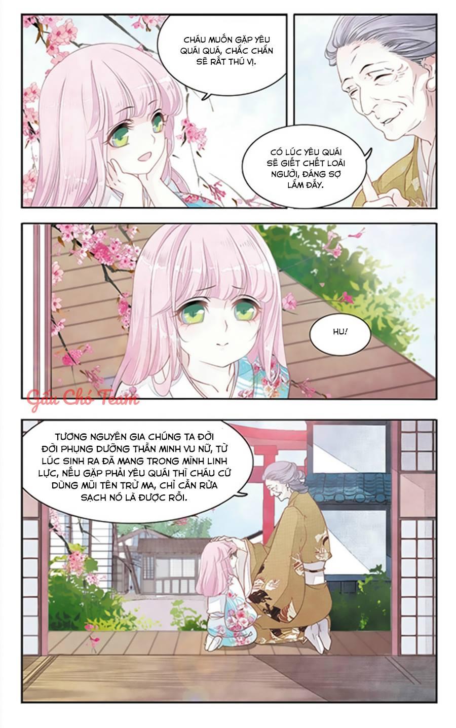 Yêu Chủ Đại Nhân Phải Lòng Vu Nữ chap 1 - Trang 4