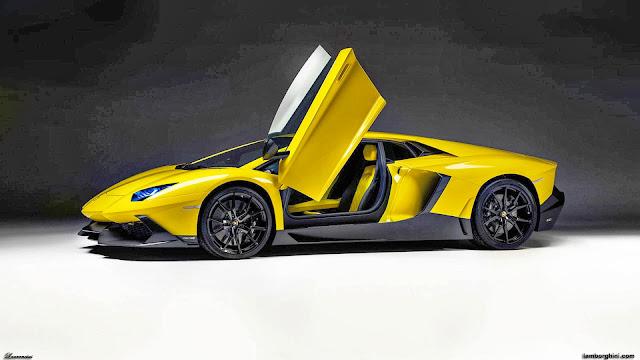 50 Gambar Mobil Lamborghini Aventador Terkeren: Foto Lamborghini Aventador LP 720-4 50 Edisi Spesial Ultah