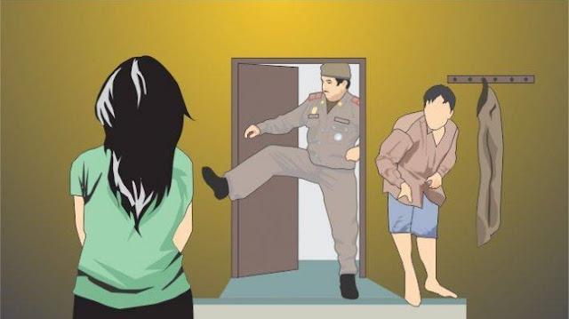 GASWAT! Istri Polisi Kepergok Suami Selingkuh dengan Kapolsek, Insidennya Menegangkan, Inil Kronologinya