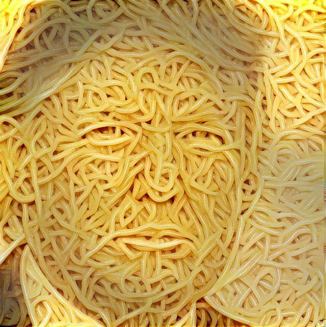 spaghetti trump