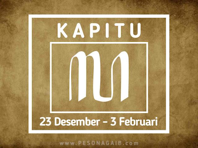 Ramalan Mangsa Kapitu (23 Desember - 3 Februari)