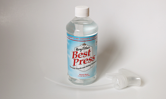 16.9 ounce bottle of unscented Mary Ellen Best Press
