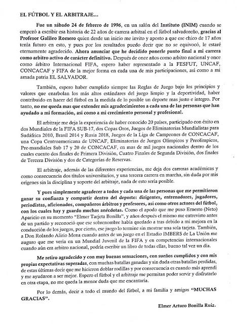 arbitros-futbol-CARTA-RETIRO-ELMER-BONILLA