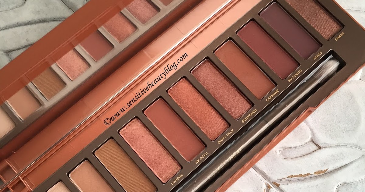 Urban-Decay-Naked-Heat-Palette-Review-Swatches - Beauty