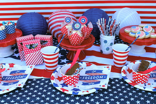 LAURA'S little PARTY: Fourth of July Party Inspiration!