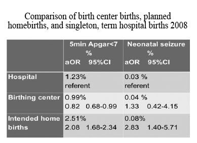 Homebirth Death Statistics
