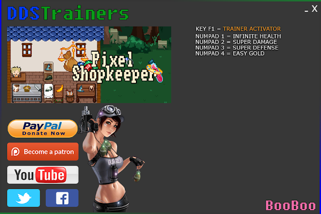Pixel Shopkeeper Trainers and Cheats for PC