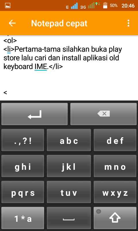 gambar aplikasi keyboard ABC android