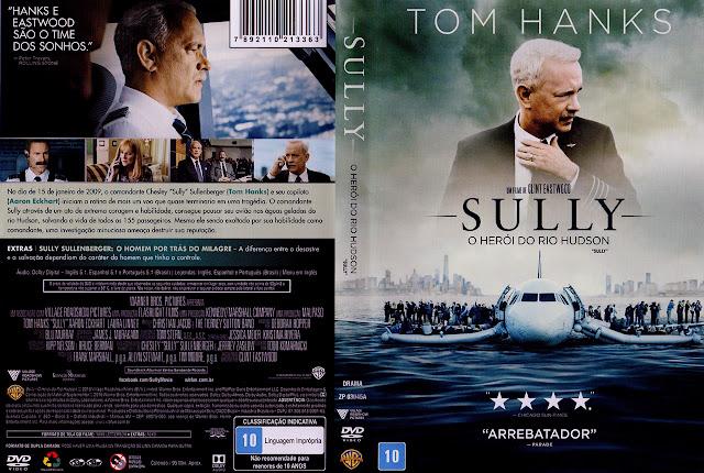 Capa DVD Sully O Herói do Rio Hudson