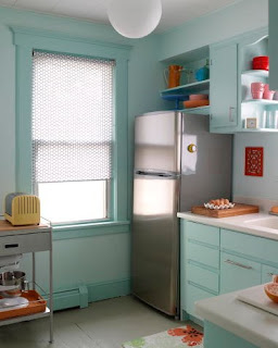 Old kitchen cabinets get a new life