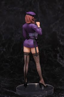 Inran do S Fukei Akiko (Policewoman) 1/6 - A-plus +18