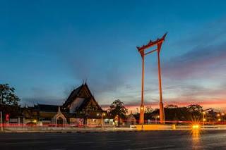Wat Suthat Giant Swing Bangkok