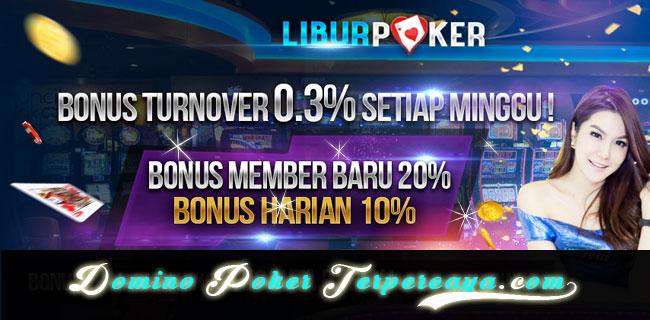 Liburpoker  Bonus Chip Idn 100.000 Deposit 400.000  Freebet Poker